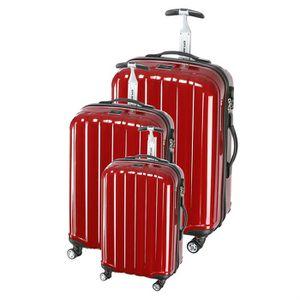 SET DE VALISES CITY BAG Set de 3 Valises Polycarbonate 8 Roues 50
