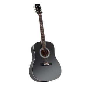 GUITARE DELSON Guitare folk MONTANA Noir