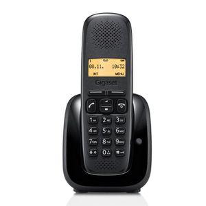 Téléphone fixe Gigaset A150 Solo Noir  Sans Répondeur