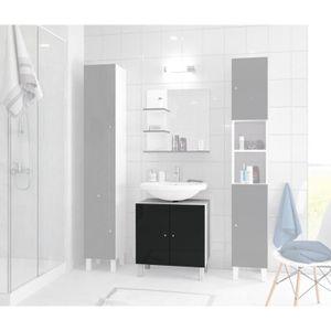 meuble sous lavabo achat vente meuble sous lavabo pas cher cdiscount. Black Bedroom Furniture Sets. Home Design Ideas