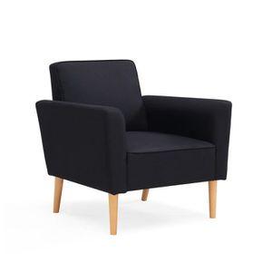 fauteuil design noir achat vente fauteuil design noir. Black Bedroom Furniture Sets. Home Design Ideas