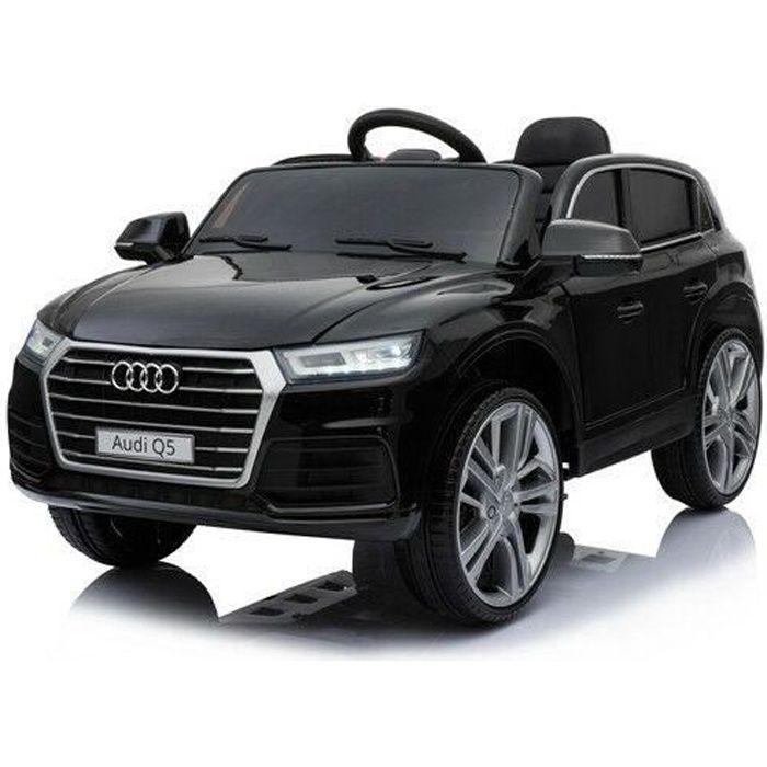 audi q5 voiture electrique pour enfant 12v noir achat vente voiture enfant cdiscount. Black Bedroom Furniture Sets. Home Design Ideas