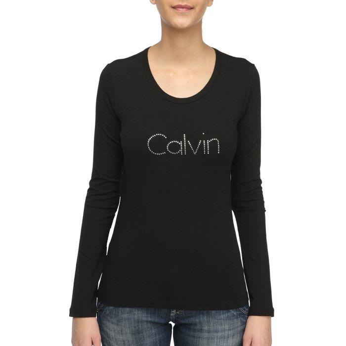 T shirt calvin klein - Tee shirt manche longue calvin klein ...