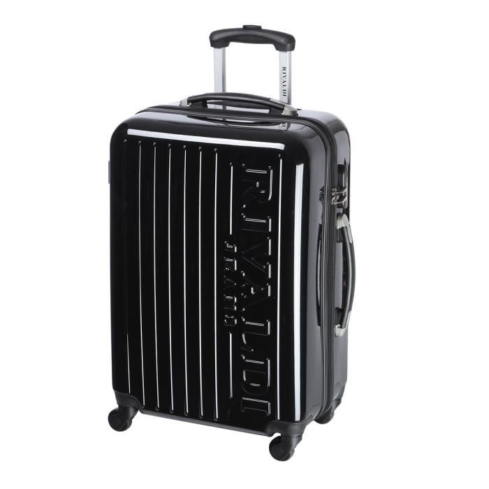 rivaldi valise trolley 4 roues 60 cm noir achat vente valise bagage rivaldi valise trolley. Black Bedroom Furniture Sets. Home Design Ideas