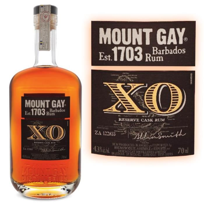 from Francisco pussers or mount gay