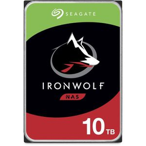 """DISQUE DUR INTERNE Seagate NAS HDD Iron Wolf 10To 3,5"""""""