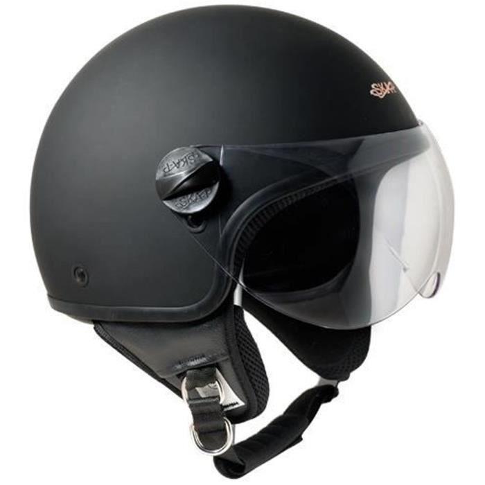casque moto aviateur achat vente casque moto aviateur pas cher les soldes sur cdiscount. Black Bedroom Furniture Sets. Home Design Ideas