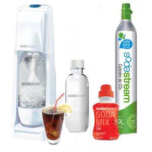 MACHINE À SODA Sodastream - Méga pack COOL + 1 Bouteille grand mo