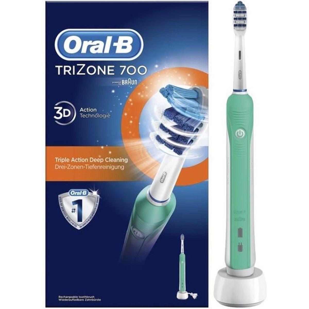 brosse dents lectrique oral b trizone 700 achat. Black Bedroom Furniture Sets. Home Design Ideas