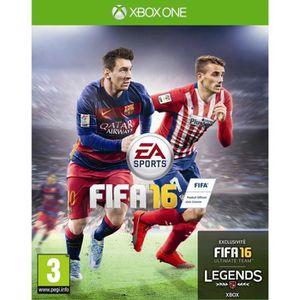 JEUX XBOX ONE FIFA 16 Jeu Xbox One