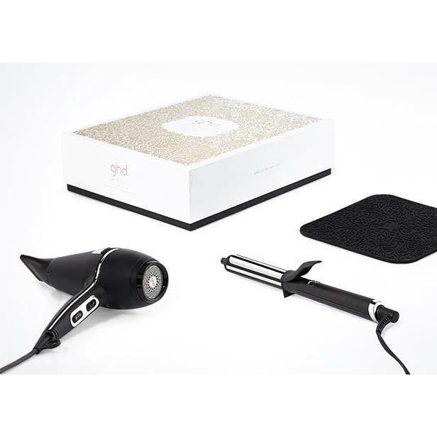 FER A LISSER GHD - Coffret Sèche-cheveux Air® & Fer à boucler C