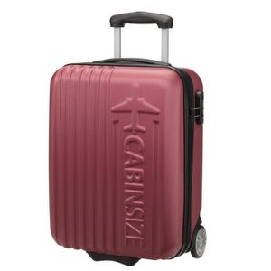 VALISE - BAGAGE CABINE SIZE Valise Low Cost  ABS 2 Roues FLOWN 50