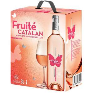 VIN ROSÉ Bag in Box® Fruité Catalan rosé 3L