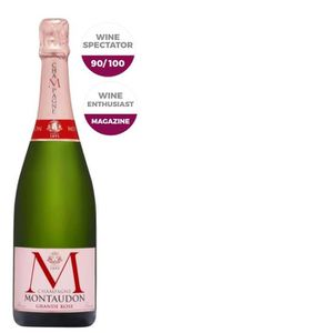 CHAMPAGNE Champagne Montaudon Grande Rose x1