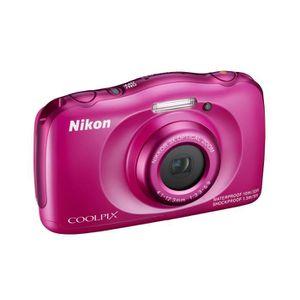 APPAREIL PHOTO COMPACT NIKON COOLPIX S33 Rose Appareil photo numérique Co