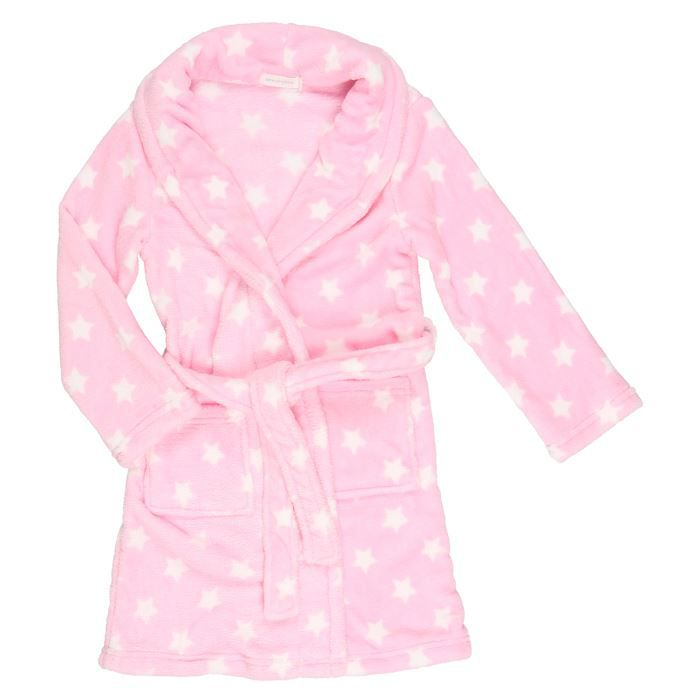epop girls robe de chambre fille rose et blanc achat vente chemise de nuit cdiscount. Black Bedroom Furniture Sets. Home Design Ideas