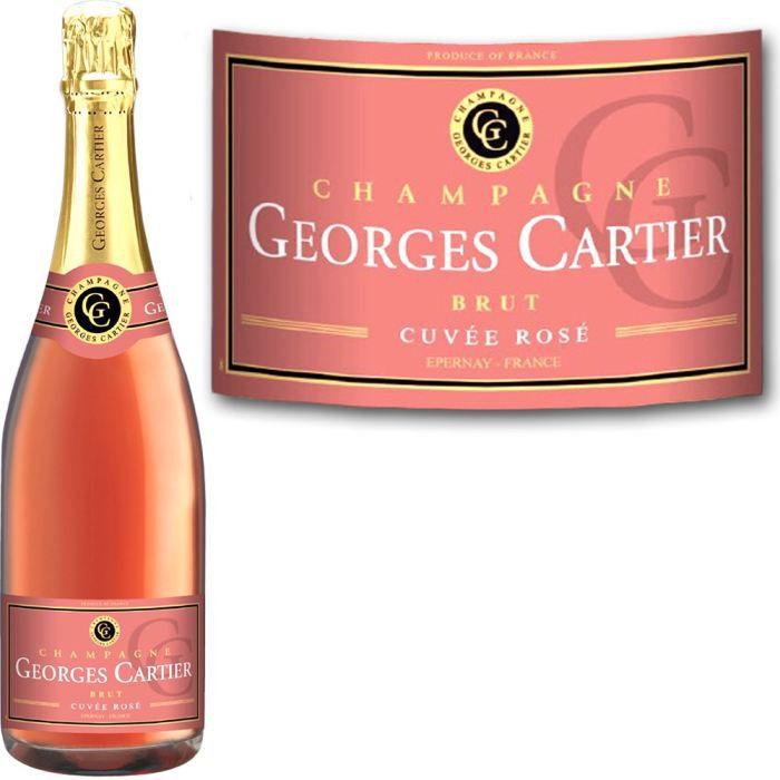 CHAMPAGNE Champagne Cartier Rosé