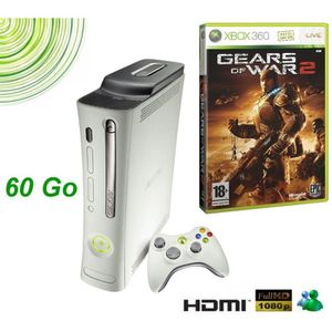 CONSOLE XBOX 360 PACK XBOX 360 PRO GEARS OF WAR 2