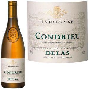 """VIN BLANC Condrieu """"La Galopine"""" Delas 2014 - Vin blanc"""