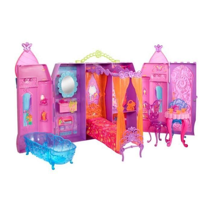 maison poupe barbie le chateau magique