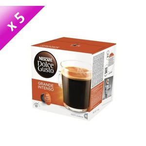 CAFÉ - CHICORÉE DOLCE GUSTO Grande Intenso 16 Capsules 160g