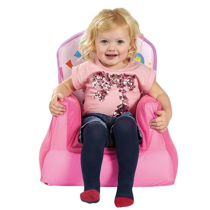Peppa pig fauteuil enfant gonflable worlds appart - Fauteuil peppa pig jouet club ...