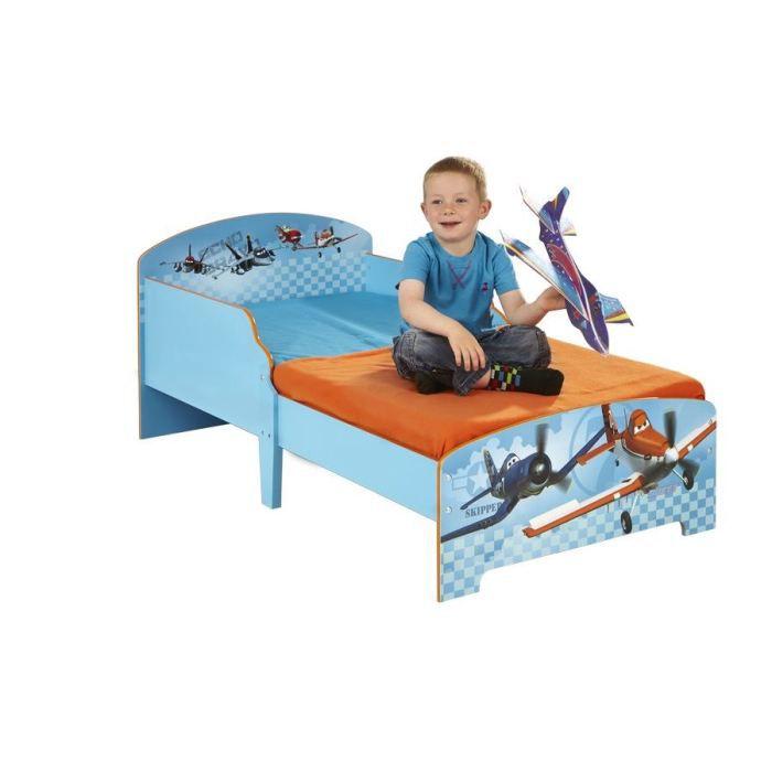 lit enfant 70 x 140 cm planes achat vente structure de. Black Bedroom Furniture Sets. Home Design Ideas