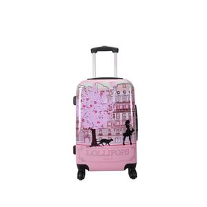 VALISE - BAGAGE LOLLIPOPS Valise Trolley Rigide ABS & Polycarbonat