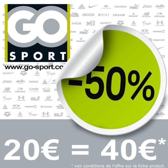 bon d achat go sport de 40 au prix de 20 achat vente bon de reduction bon d achat go sport. Black Bedroom Furniture Sets. Home Design Ideas