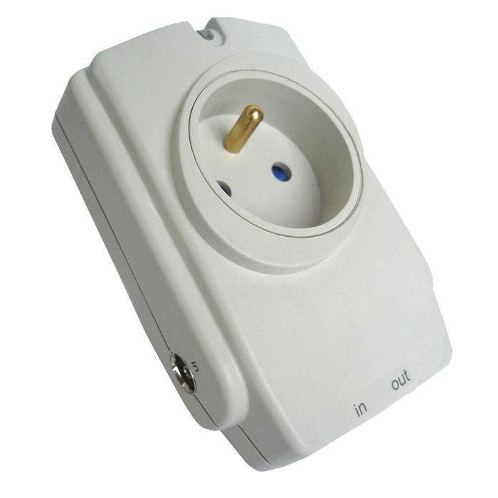 Bloc parafoudre 1 prise protection t l phone tv achat vente parafoudre - Paratonnerre et parafoudre ...