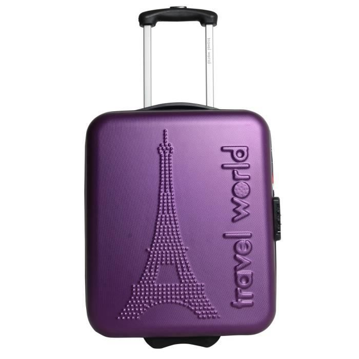 VALISE - BAGAGE TRAVEL WORLD Valise trolley LOW COST PARIS