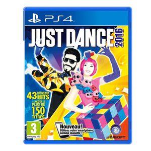 JEU PS4 Just Dance 2016 Jeu PS4