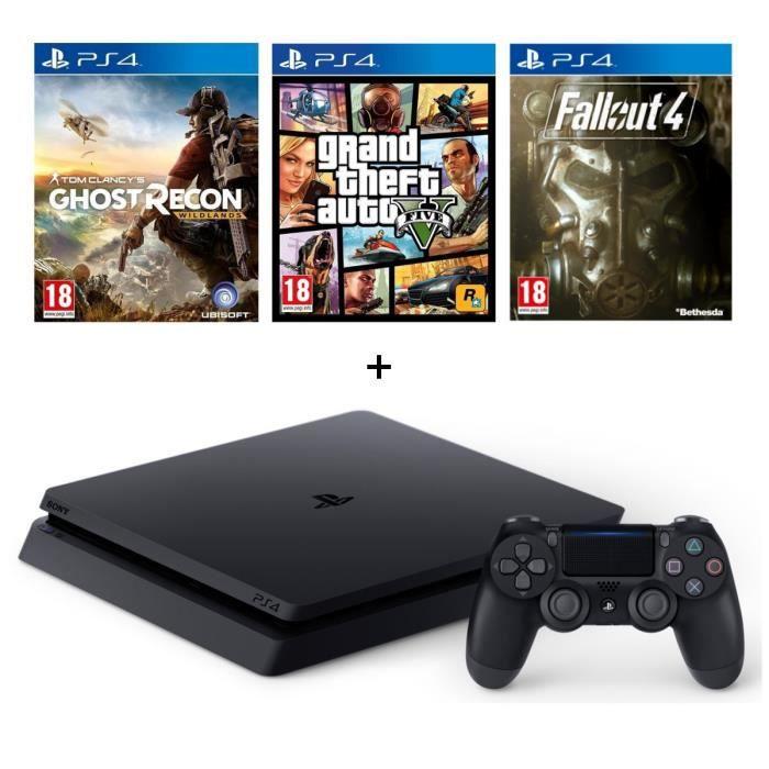 Promo sur la ps4 et r duction en juillet 2017 bon reduc - Console de jeux portable pas cher ...