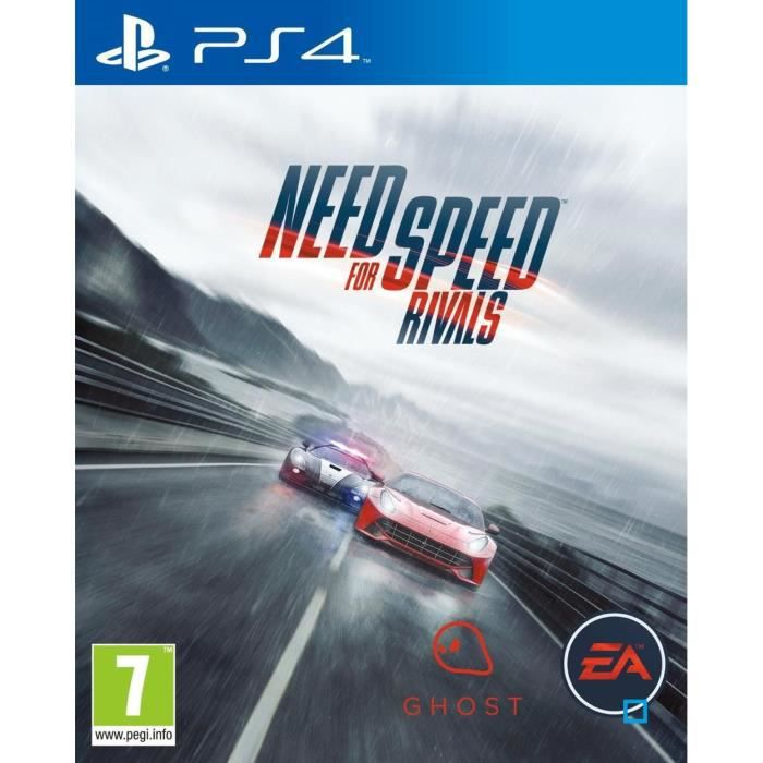 need for speed rivals jeu ps4 achat vente jeu ps4 need for speed rivals ps4 cdiscount. Black Bedroom Furniture Sets. Home Design Ideas