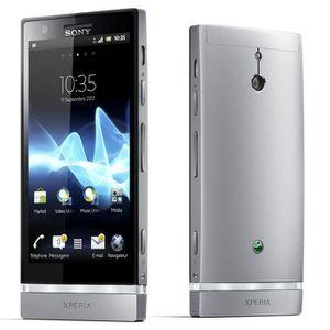 SMARTPHONE SONY Xperia P Silver