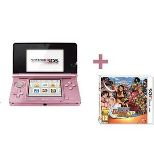 CONSOLE DS LITE - DSI 3DS ROSE + ONE PIECE UNLIMITED CRUISE SP