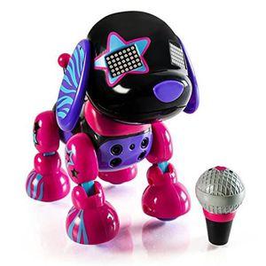 ROBOT - ANIMAL ANIMÉ ZOOMER Robot Chien Zuppies Love Pupstar Spinmaster