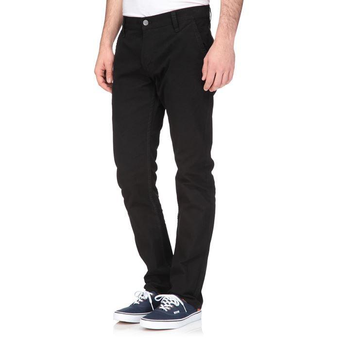anapold pantalon slim homme noir achat vente pantalon anapold pantalon homme cdiscount. Black Bedroom Furniture Sets. Home Design Ideas