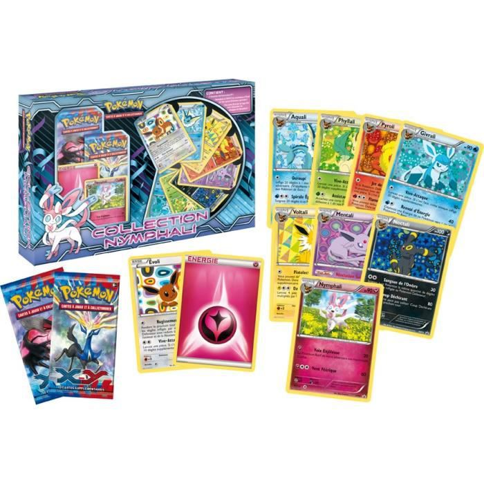 POKEMON XY Pack Nymphali 2 Boosters +9 Cartes Achat / Vente cartes
