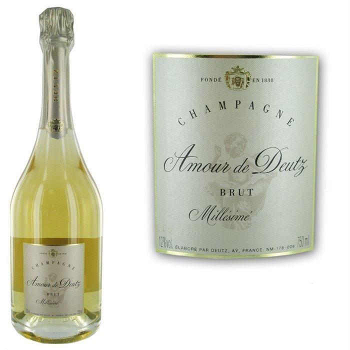 CHAMPAGNE Deutz Cuvée Amour Millésime 2005