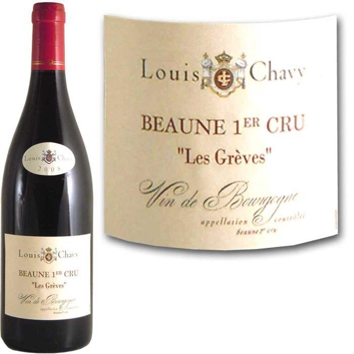 VIN ROUGE Beaune 1er Cru Louis Chavy 2008