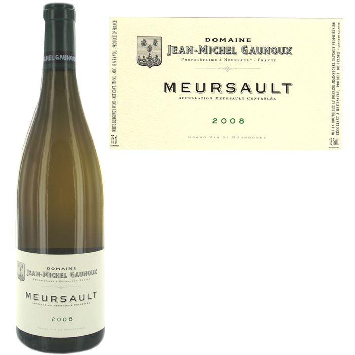 VIN BLANC Meursault 08 Dom Gaunoux