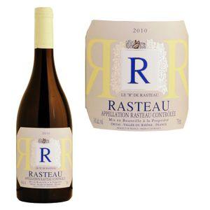 VIN ROUGE R de Rasteau Côtes du Rhône Villages 2010