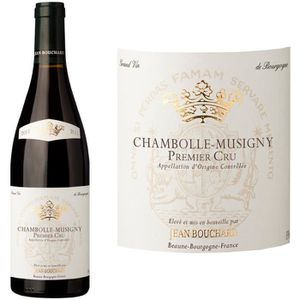 VIN ROUGE Jean Bouchard Chambolle Musigny 1er Cru 2011 - Vin