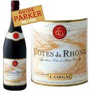 VIN ROUGE E. Guigal Côtes-du-Rhône 2012 - Vin rouge x1