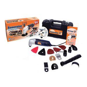 OUTIL MULTIFONCTIONS RENOVATOR Kit avec 15 accessoires