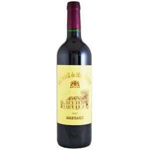 VIN ROUGE La Dame de Malescot Margaux 2013 - Second Vin du C
