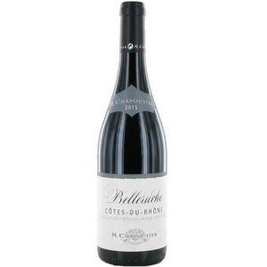 VIN ROUGE Chapoutier Belleruche 2015 Côtes du Rhône vin roug