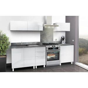 Meuble sous evier 70 cm achat vente meuble sous evier for Cuisine complete taupe