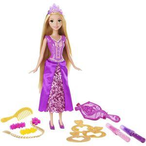 poupe disney princesses raiponce coiffure cration
